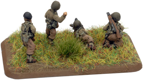The Devil's Brigade Platoon Pioneer Rifle/MG Team (US748)