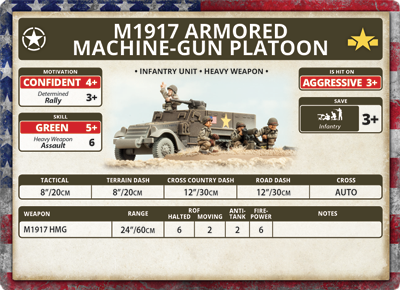 M1917 Machine-gun Platoon (Plastic) (US754)