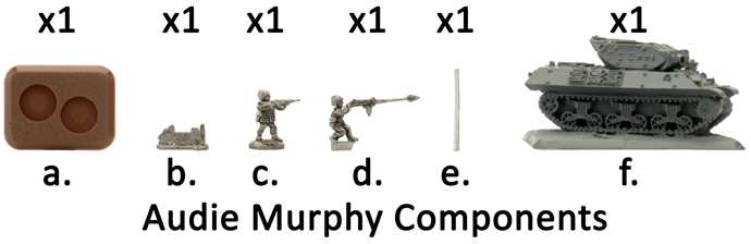 2nd Lieutenant Audie Murphy (US886)