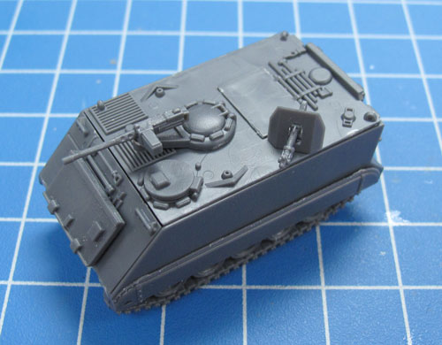 Assembling The Plastic M113