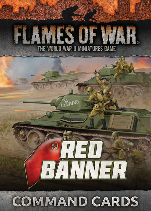 Red Banner Command Cards (FW250C)