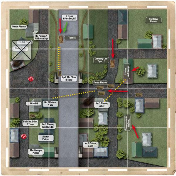 Arnhem Battle Map Arnhem Map Turn 3