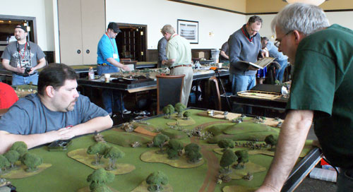 The Action and the Armies of Adepticon 2011