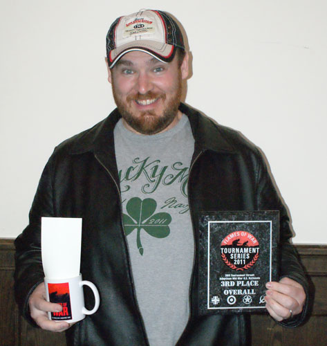 3rd Place: Mike McMann