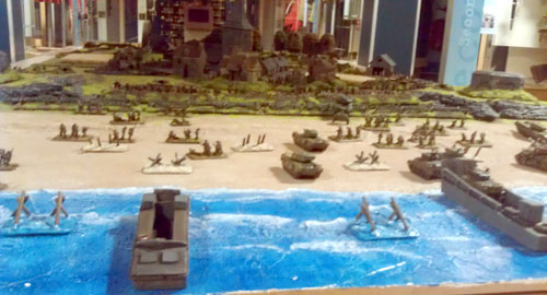 Boys & Their Toys: A D-Day Display Game