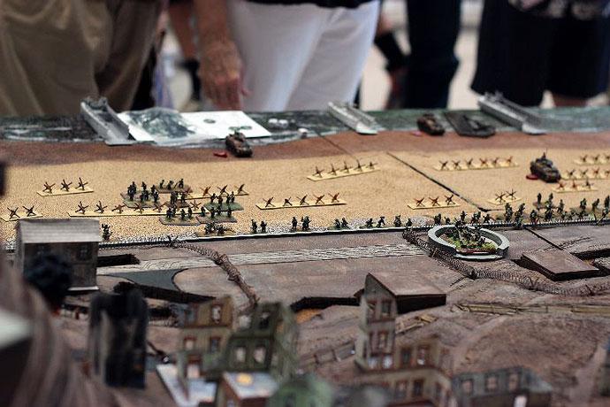 Wargame At A World War II Museum