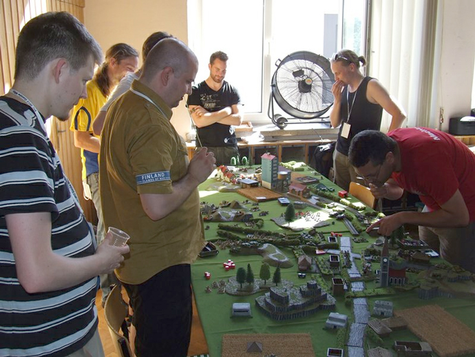 Flames Of War European Team Championship 2012 Report