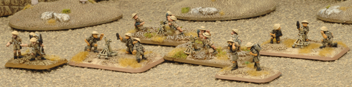 Commonwealth Mortar Platoon (2 Mortar sections)