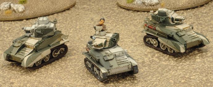 Divisional Cavalry Platoon (3 Light Mk VI B)
