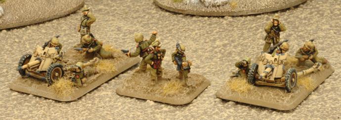 Anti-Tank Gun Platoon (2 3.7cm PaK36)