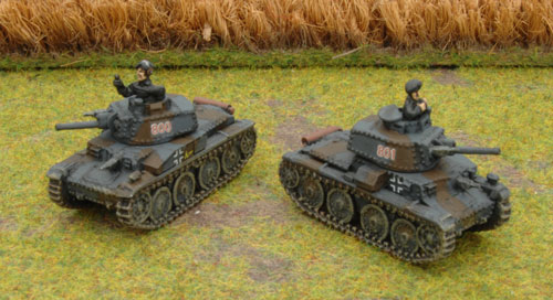 The Company HQ Panzer 38(t) Bs
