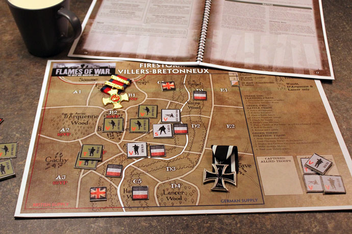 Firestorm Villers-Bretonneux: The General's Game