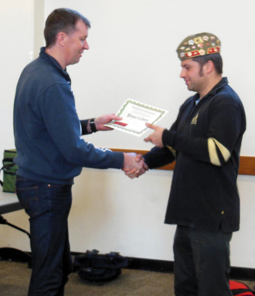 Commended Army: Steve London
