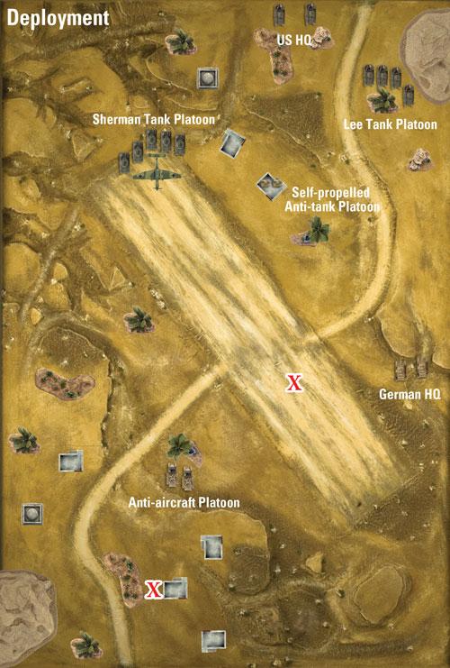 Deployment Map