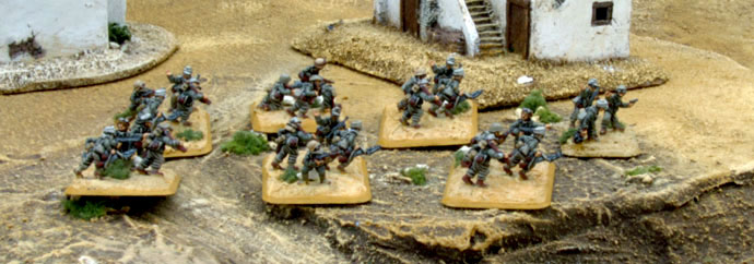 The Dismounted Grenadiers Advance