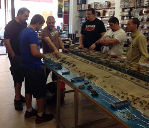 D-Day Ranger Event at La Comarca del Hobby in Zaragoza, Spain. held 29 June 2013