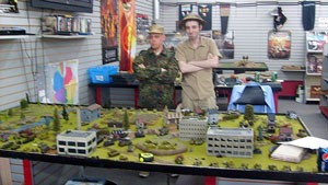 The BattleVault Rangers of Kentuckiana conducted a Flames Of War Demo Day at Hard Knox Games