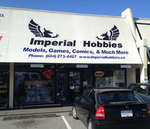 Rangers At Imperial Hobbies