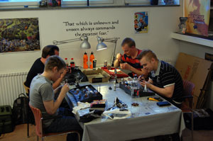 26 June 2013 Gaming and Painting Night at Legend Spelbutik in Sweden