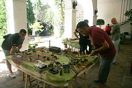 Flames Of War Tournament in Valencia, Spain.