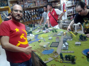 Tournament at e-Minis in Cádiz, Spain.