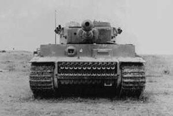 The captured Tiger Ie