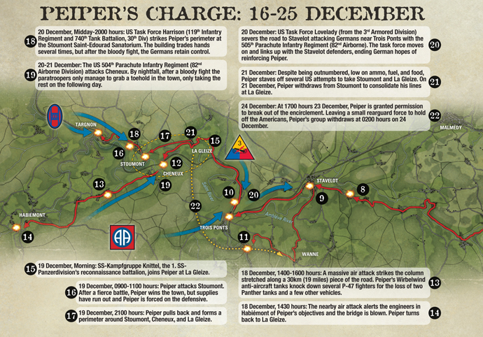 Peiper's Charge: Running the Gauntlet in the Ardennes, 16-25 December 1944