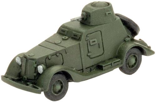 ACE 1//48 russ Panzerwagen BA-20 frühe Prod.