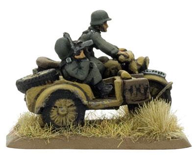 Polizei motorcycle team, Partisans & Polizei (SBX09)