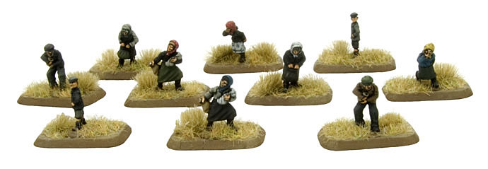 Villagers, Partisans & Polizei (SBX09)