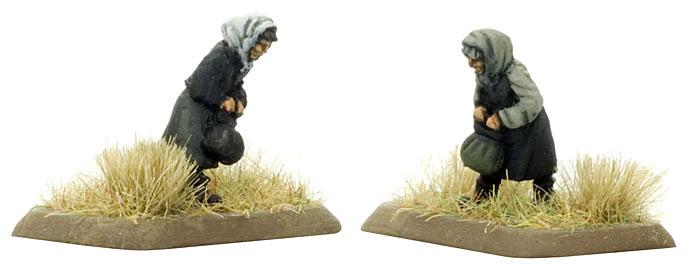 Peasant woman, Partisans & Polizei (SBX09)