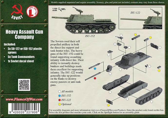 6182 SOVIET SU-152 ASSAULT GUN ZVEZDA 15mm 1//100 RUSSIAN WW2 FLAMES OF WAR