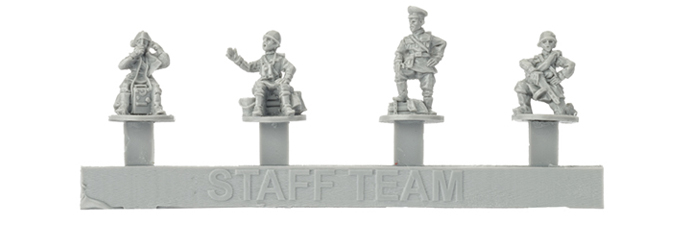 Resin Soviet Staff Team