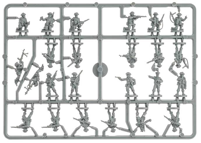 Plastic Rifle Sprue