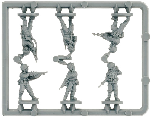 Rifle Company HQ Sprue