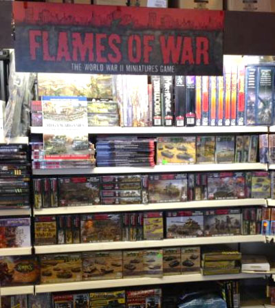 New Flames Of War Stockist in Bad Camberg, Germany
