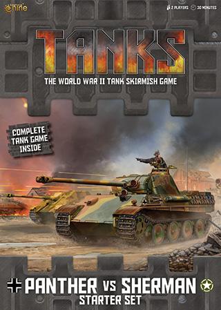 TANKS, the World War II Tank Skirmish Game