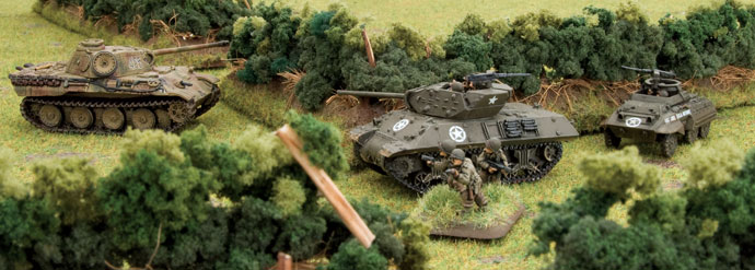 Tank Destroyers in the Normandy bocage
