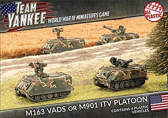 M163 VADS or M901 ITV Platoon (TUBX02)