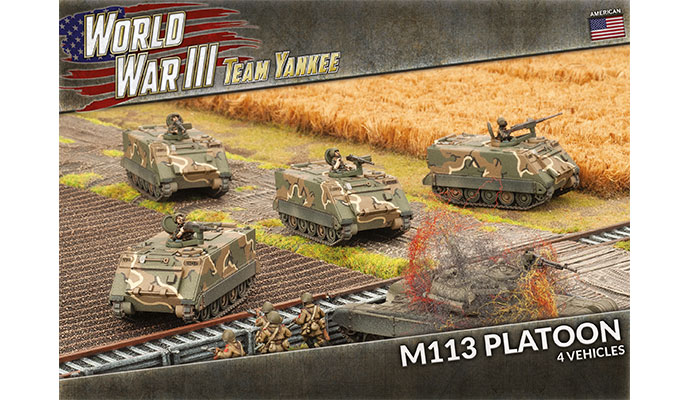 M113 / M106 Platoon (x5) (TUBX03)