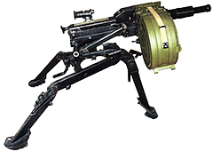 The AGS-17 Plamya automatic grenade launcher