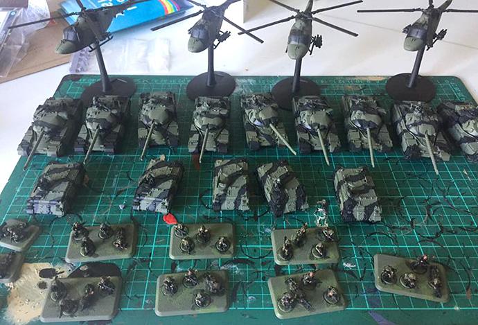 Jonathan's Armoured Squadron