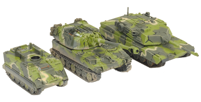 Tale of Seven Gamers – Aaron's M1 Abrams Armored Combat Team