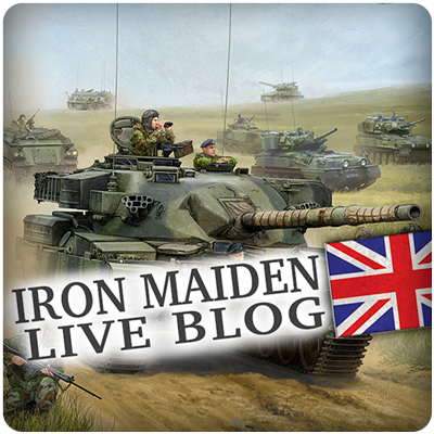 Iron Maiden Live Blog