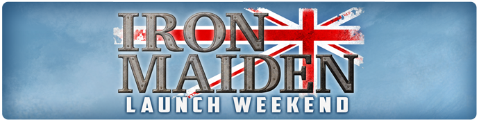 Iron Maiden Launch Weekend