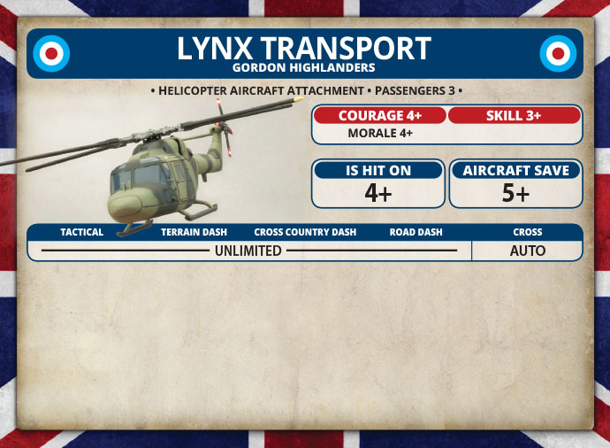 Lynx HELARM Flight (TBBX05)