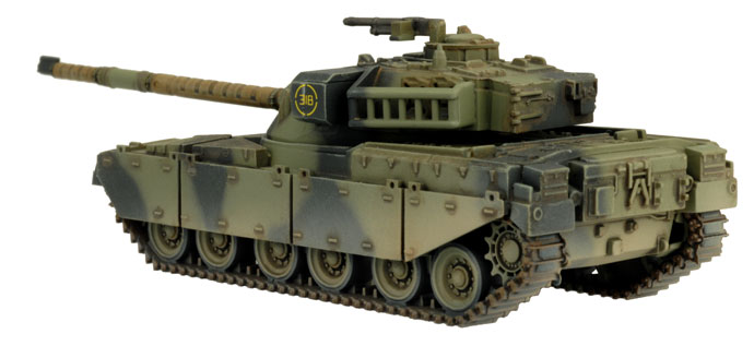Chieftain Armoured Troop (TBBX01)