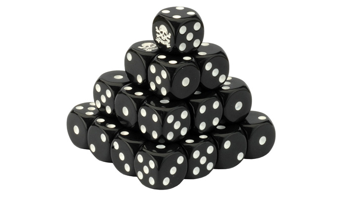 Team Yankee British Dice Set (TBR900)