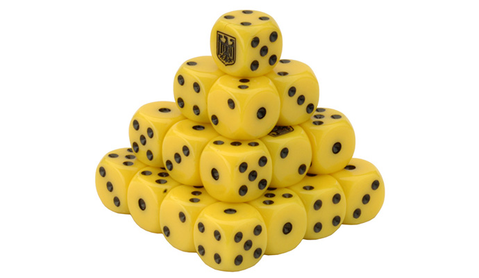 Team Yankee West German Dice Set (TGR900)