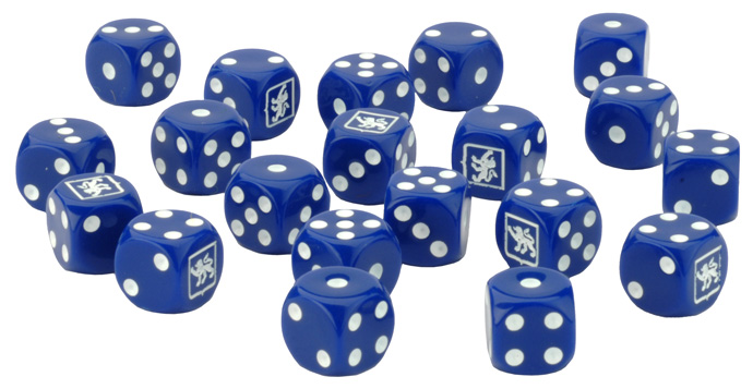 Team Yankee US Dice Set (TUS900)